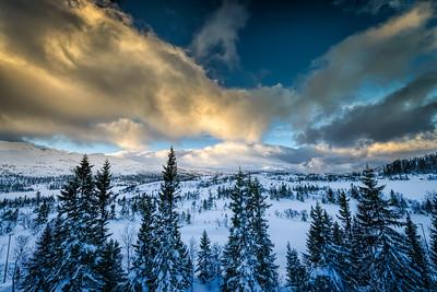 The view from the deck Gaustablikk Hotel Rjukan Norway