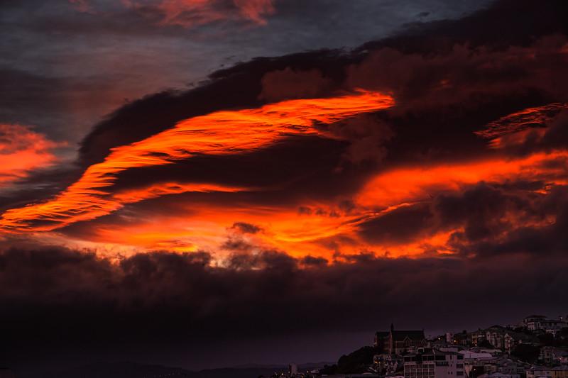An Awesome Wellington Sunrise<br /> Wellington<br /> New Zealand