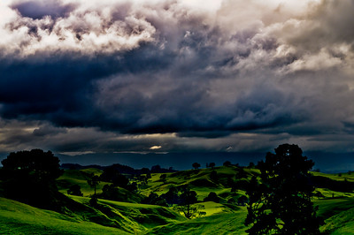 A View of The Shire An image that enthralls me every day and an image I could capture every day.