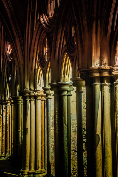 It's just the history<br /> As you walk in the door<br /> Salisbury Cathedral