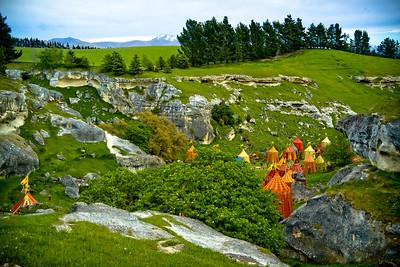 Elephant Rocks Aslan Camp Otago New Zealand