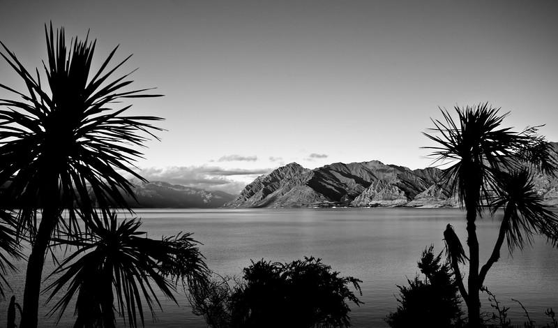 Sunset<br /> Lake Hawea