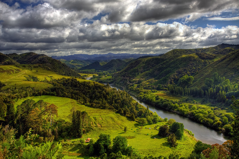 "The Whanganui River<br /> Home of ""The River Queen"""