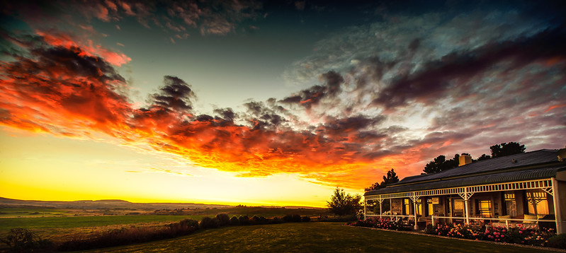 Sunrise<br /> Pukerangi Country Retreat<br /> Middlemarch<br /> One of (if not the) best place to stay in New Zealand