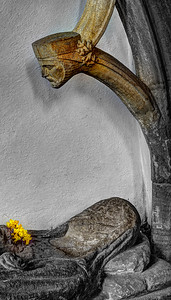 And So I will Watch Over You For Eternity The Parish and Priory Church of St George Dunster Somerset England