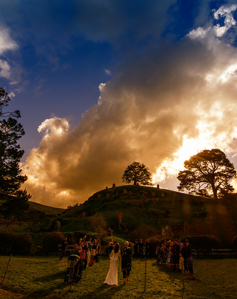 An Aisle on the Party Field<br /> Kim & Nick Wedding<br /> 18/08/12