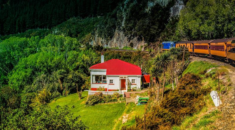 My Ultimate House<br /> Taieri Gorge Railway<br /> Dunedin<br /> Otago