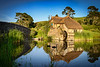 The Mill at Sunrise<br /> Hobbiton Movie Set<br /> Matamata, New Zealand.