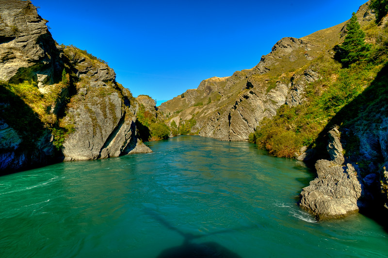 Travelling down the River Anduin towards The Argonath.<br /> A sneak image from my photo sortie yesterday with Alfie Speight & Glacier Southern Lakes Helicopters.<br /> Awesome!
