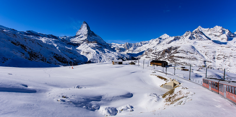 The Matterhorn from the Gornergrat