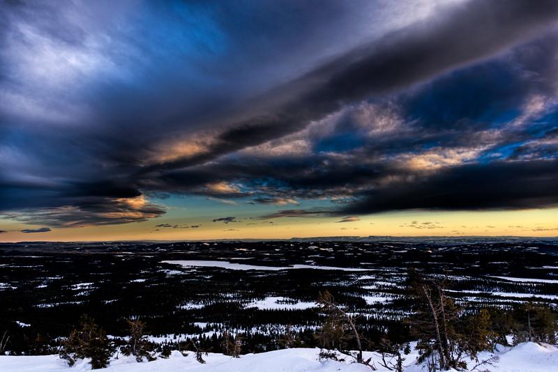 Sjusjøen Sunset (2)
