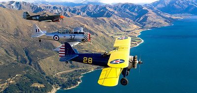 The Trainers Stearman Texan Kityhawk