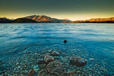 Entering the realm of memories Glendhu Bay Lake Wanaka