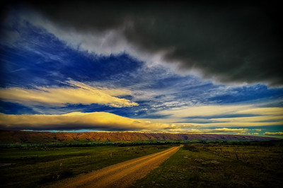 A Road with Cloud