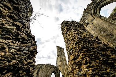 Under The Spell Glastonbury Abbey Somerset England