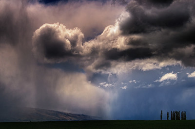 Spring Storm in the Maniatoto