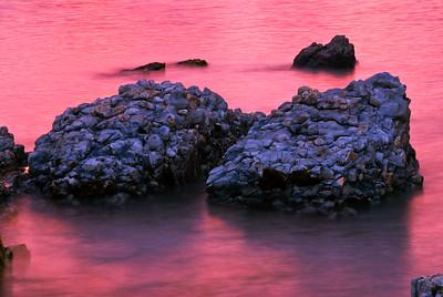 Sunset on Sea Kaikoura