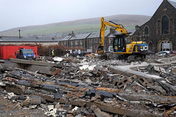 Demolition of Ambulance station