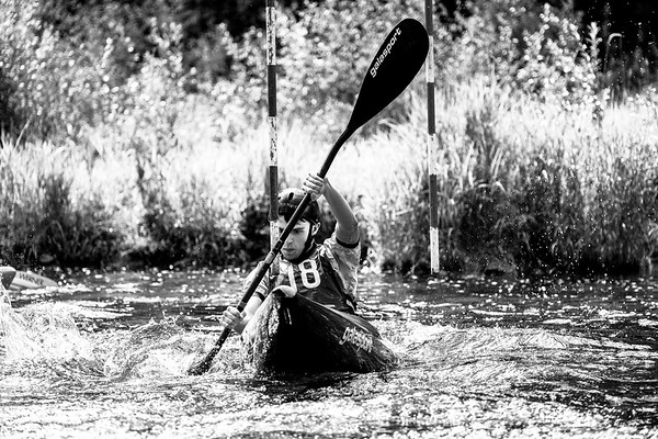 Canoe Slalom at Yair Bridge