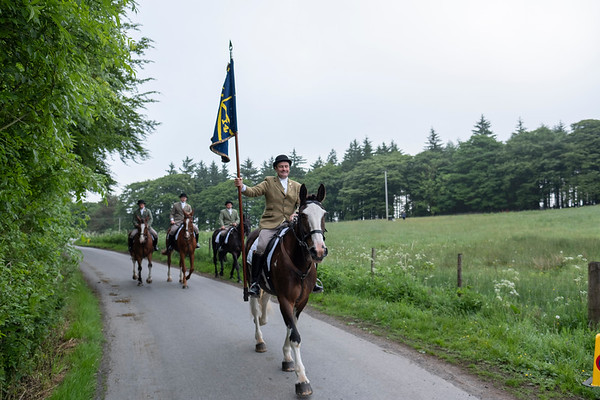 Hawick Common Riding - Thursday Morning Chase.