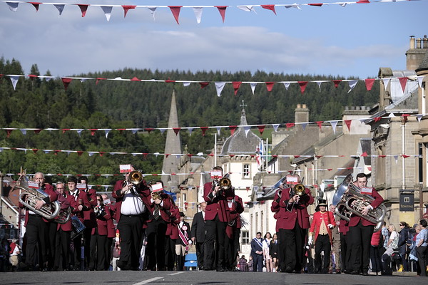 Peebles Beltane, Installation and Rideout