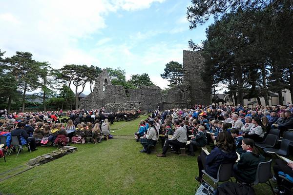 Peebles Beltane Festival - Cross Kirk