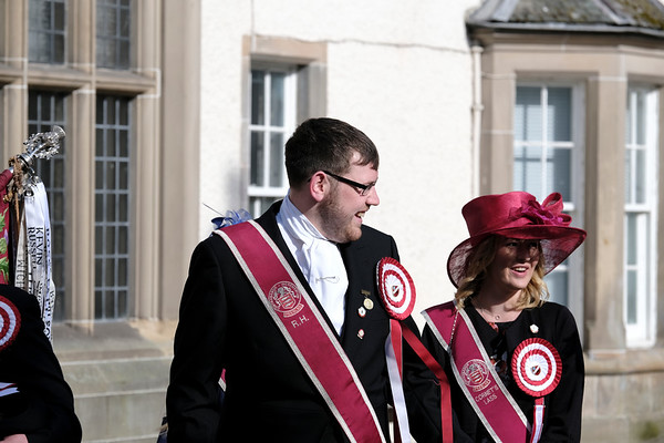 Beltane Saturday - Crowning Ceremony & Grand Procession PEEBLES RED LETTER DAY