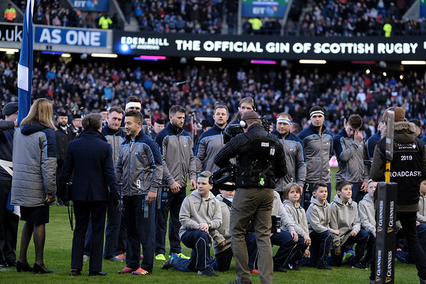 02.02.2019.  BT Murrayfield Stadium, EDINBURGH, UK.    (Photo: Rob Gray  ) 07970 836 888 robgrayphotographer.co.uk
