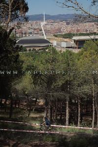 San Jordi, Palau Sant Jordi, torre Calatrava,Calatrava,  ,BTT, MTB, Monjuich,Barcelona,