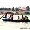 Crossing the estuary, Cotonou, Benin