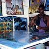 Tinga tinga painter, Zanzibar