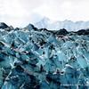 Blue ice, Lamplugh Glacier, Glacier Bay National Park, Alaska