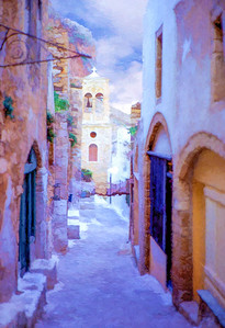 Monemvasia Alleyway