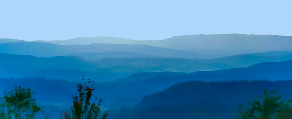 Blue Hills in the Green Mountains