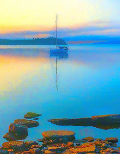 Lake Champlain Dawn