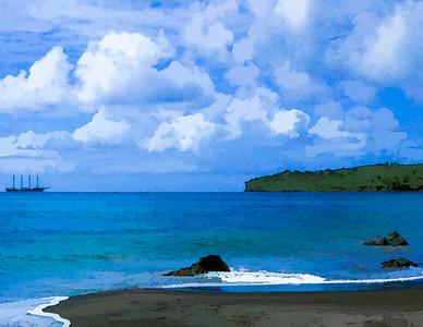 Carribean Schooner
