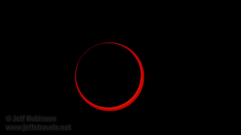 Annular Eclipse of the sun (5/20/2012 - Stillwater National Wildlife Refuge, NV)Annular Eclipse of the sun during its peak (5/20/2012 - Stillwater National Wildlife Refuge, NV)