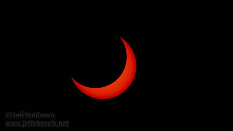 Annular Eclipse of the sun (5/20/2012 - Stillwater National Wildlife Refuge, NV)Annular Eclipse of the sun after its peak (5/20/2012 - Stillwater National Wildlife Refuge, NV)