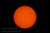 The Transit of Venus. Shot with Olympus 1000mm lens @f16 with a Seymour Solar 475 glass filter (6/5/2012 - Folsom, CA)