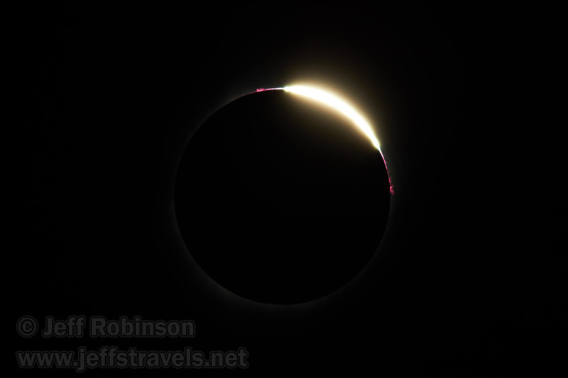 The sun reappearing at the end of totality (8/21/2017, 6152 Northwest Danube Dr., Madras eclipse trip)<br /> EF400mm f/5.6L USM +2x III @ 800mm f11 1/1000s ISO100