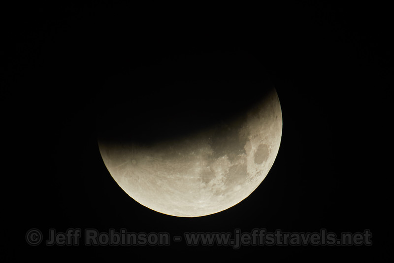 Lunar Eclipse during a super moon (and blue moon) (1/31/2018, iOptron mount, Tamron 150-600 G2 + 1.4x)<br /> TAMRON SP 150-600mm F/5-6.3 Di VC USD G2 A022 +1.4x III @ 840mm f9 1/30s ISO100
