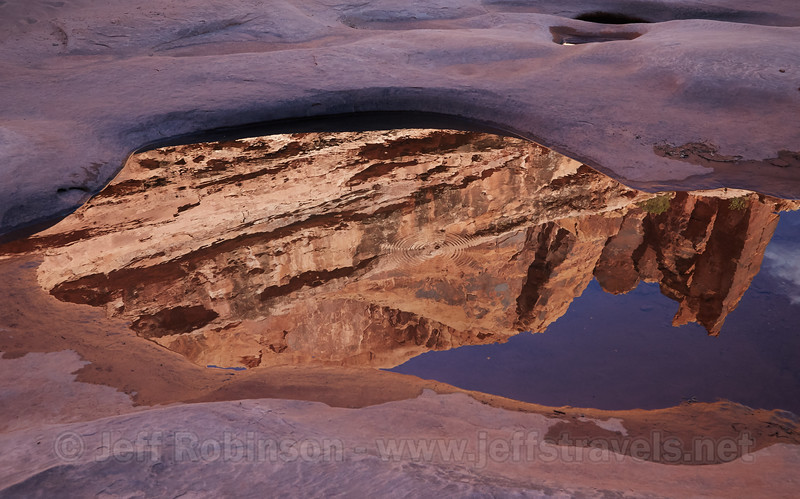 (10/15/2014, Culvert Canyon of Utah 279 / Potash Road)<br /> EF24-105mm f/4L IS USM @ 28mm f/9 1/160s ISO800