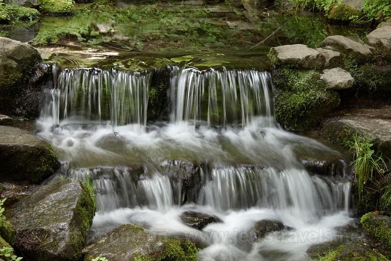Pool and mini-waterfall of Fern Spring (7/7/2010, Southside Drive near Pohono Bridge, Yosemite NP)