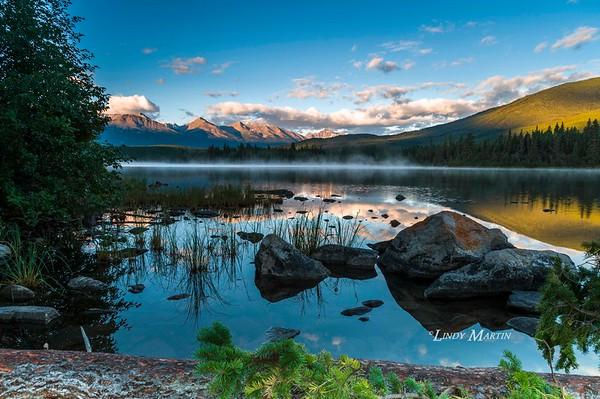 Pyramid Lake at Dawn ©Lindy Martin