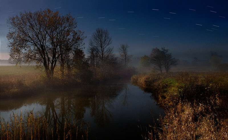The River By Moonlight