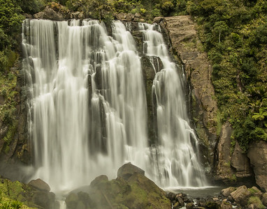 Marokopa Falls, North Island, New Zealand