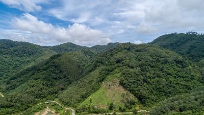 Ban Niao Dam mountains