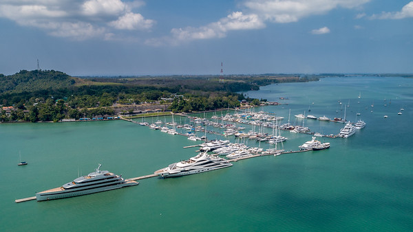 Yachthaven from Above - Phuket
