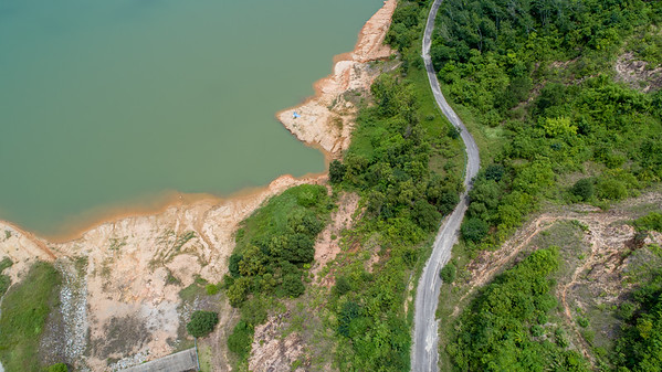 Ban Niao Dam from Above