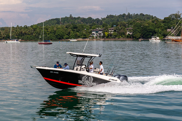Scarab - Asia Marine -Fast Fishing Boat - Yachthaven